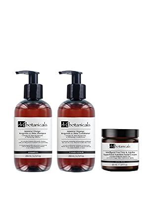 DR BOTANICALS Gesichts-/Haarpflege Kit 3 tlg. Set Japanese Orange - Intelligent Tea Tree And Jojoba