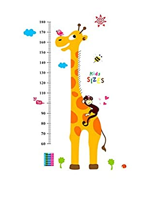LO+DEMODA Vinilo Decorativo Meter Giraffe Multicolor