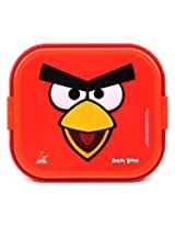 Angry Birds Classic Big Plastic Lunch Box, 750ml, Red