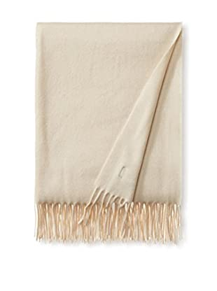 Vera Wang Cashmere Throw, Ivory