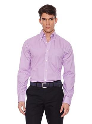 Hackett Camisa Cuadros (Lila / Blanco)