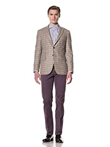 Domenico Vacca Men's Blazer (Multicolor)