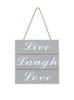 SuperStudio Wandbild Live Love Laugh