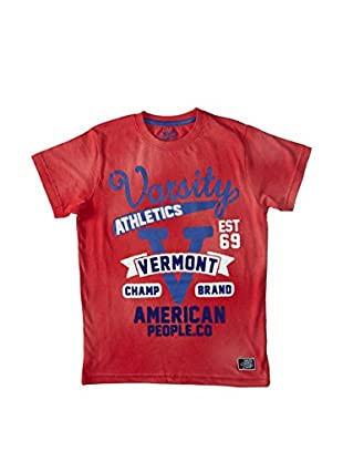 American People Camiseta Manga Corta Varsity