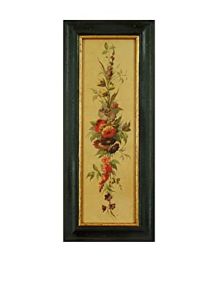 Framed Floral Reproduction Print