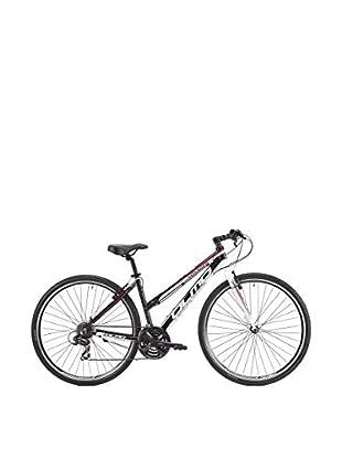 Olmo Bicicleta Trekking Voyager 21V Mujer Negro