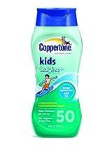 Coppertone Kids Tear Free with Zinc Oxide Broad Spectrum SPF 50, 8-Ounce Bottle