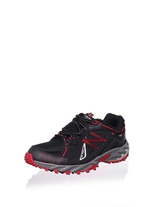 New Balance Men's MT610 Trail Running Shoe (Black/Red)