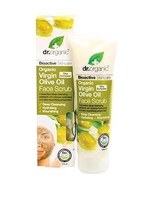 Dr Organic Scrub Viso Virgin Olive Oil 125 ml