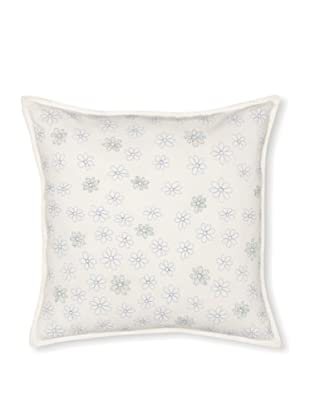 Tommy Hilfiger Hydrangea Petals Decorative Pillow (White/Blue Floral)