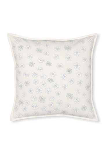 Tommy Hilfiger Hydrangea Petals Decorative Pillow, Green, 18