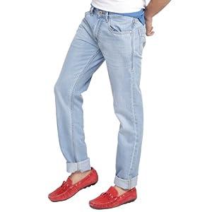 Flying Machine Blue Denim Slim Fit Men - Jeans