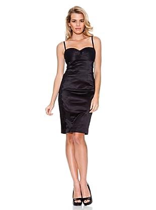 Guess Vestido Encaje (Negro)