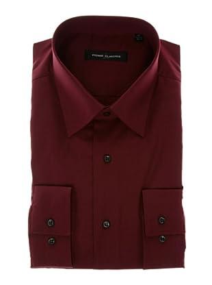Pierre Clarence Camisa de manga larga (Rojo Oscuro)