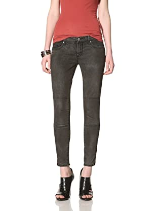 Driftwood Women's Skinny Jean (Coated Black)