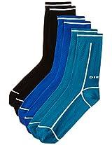 Diesel Men's Cotton Calf Socks
