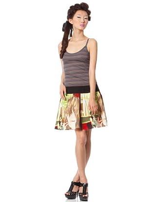 Custo Vestido Qarte (Multicolor)