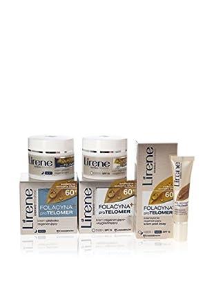 Lirene Gesichtspflege 3 tlg. Set Folacyna+ PRO Telomer 60+ 10 SPF , Preis/100 ml: 22.56 EUR
