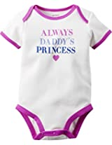 Daddy's Princess Bodysuit (White, 3M)