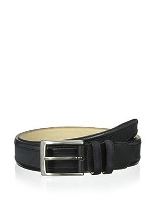 Mezlan Men's Embossed Belt (Black)