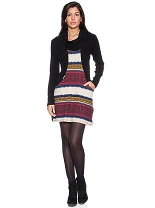 HHG Vestito Megan (Nero/Multicolore)