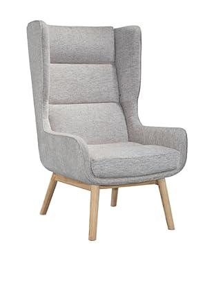 International Design USA Harmony Wing Chair, Oatmeal