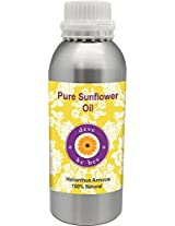Pure Sunflower oil 630ml (Helianthusannuus) 100% Natural Cold pressed