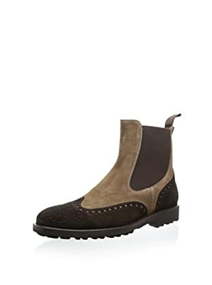 Gordon Rush Made In Italy Men's Zander Two-Toned Chelsea Boot (T.Moro/Paludo)