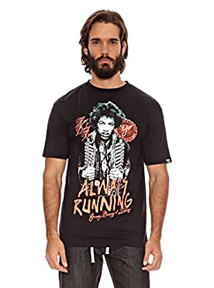 Grimey Wear Camiseta Always Running (Negro)