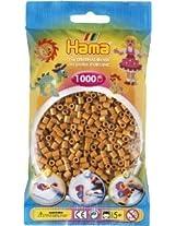 Bulk Buy:Hama Coffee Brown 207 20 Midi Beads 1,000 Count (6 Pack)