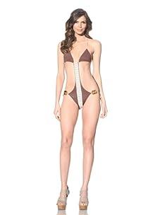 Undrest Women's String Monokini (Cocoa)