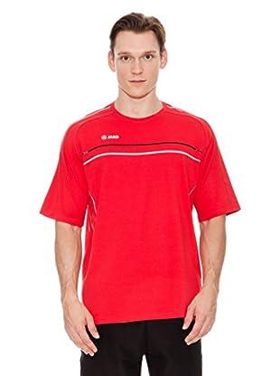 Jako Camiseta Active (Rojo / Negro / Blanco)