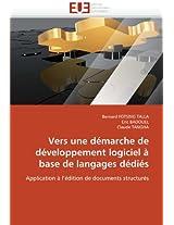 Vers Une Demarche de Developpement Logiciel a Base de Langages Dedies (Omn.Univ.Europ.)