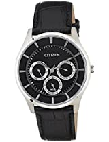 Citizen Analog Black Dial Men's Watch - AG8350-03E