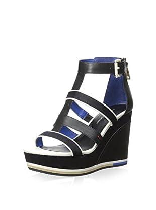 tommy hilfiger women s parfait sandal tommy hilfiger damen wedge. Black Bedroom Furniture Sets. Home Design Ideas