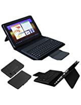 Callmate Bluetooth Keyboard Leather Case For Samsung Galaxy Tab 7.0 P3100/P3110/P3113/P6200/P6210 With Free Screen Guard