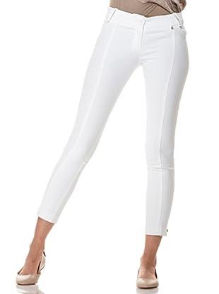 Annarita N Pantalón Skinny (Blanco)