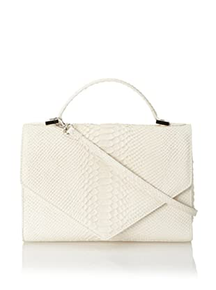 Emily Cho Women's Medium Triangle Bag (Ivory)