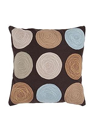 Surya Circles Pillow