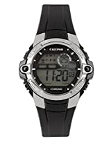Calypso Black PU Digital Men Watch K5617 6