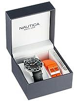 """Nautica Men's N11562G """"NST 07 BOX SET"""" Classic Analog Watch"""