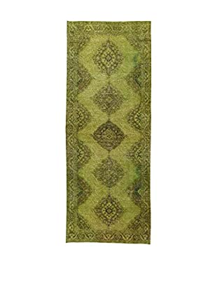 Design Community By Loomier Teppich Anatolian Vintage grün 147 x 375 cm