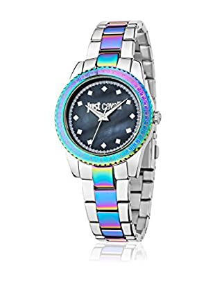 Just Cavalli Quarzuhr Woman Just Sunset silberfarben/mehrfarbig 42.4x36 mm