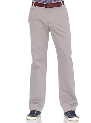 PEDRO DEL HIERRO Pantalón 5 Bolsillos (Gris claro)
