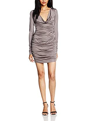 byblos Vestido Virginia Gris ES 36 (IT 40)