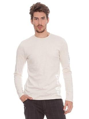Timeout Camiseta Print (Beige)