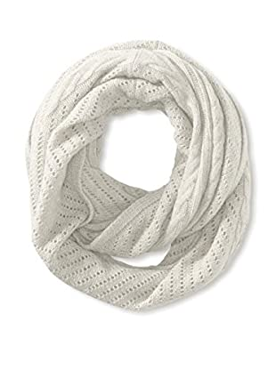 Cullen Women's Cashmere Multi-Texture Infinity Scarf, Ivory
