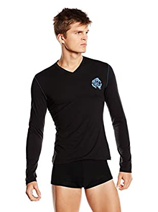 Roberto Cavalli Underwear Camiseta Manga Larga