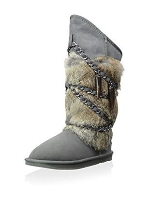 Australia Luxe Collective Womens Atilla Fur Boot (Grey)
