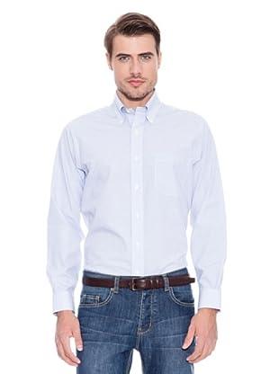 Brooks Brothers Camisa Vestir Nelson (Azul)